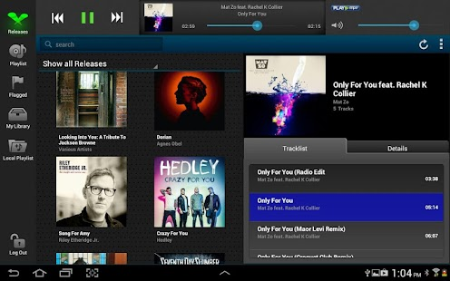 Play MPE® Player - Tablet - screenshot thumbnail