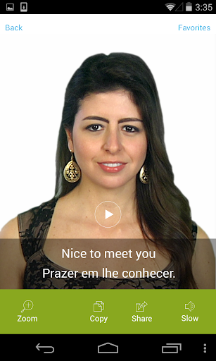 Portuguese Video Translation