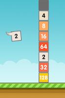 Screenshot of Flappy 2048 - Endless Combat