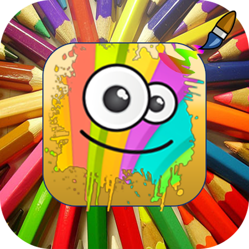 coloring pages kids paint easy 教育 App LOGO-APP試玩
