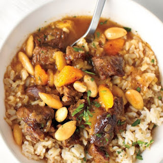 Beef Stew with Almonds and Dried Fruit