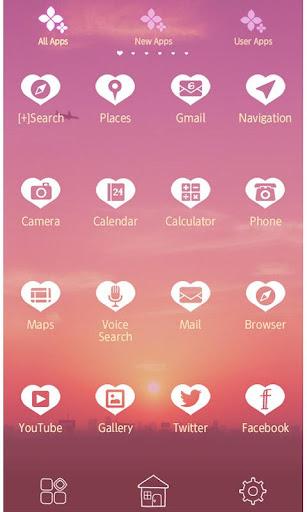 Sky Wallpaper Purple Sunrise 1.0.1 Windows u7528 2