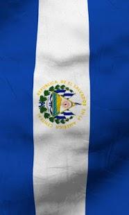 El salvador flag lwp Free- screenshot thumbnail