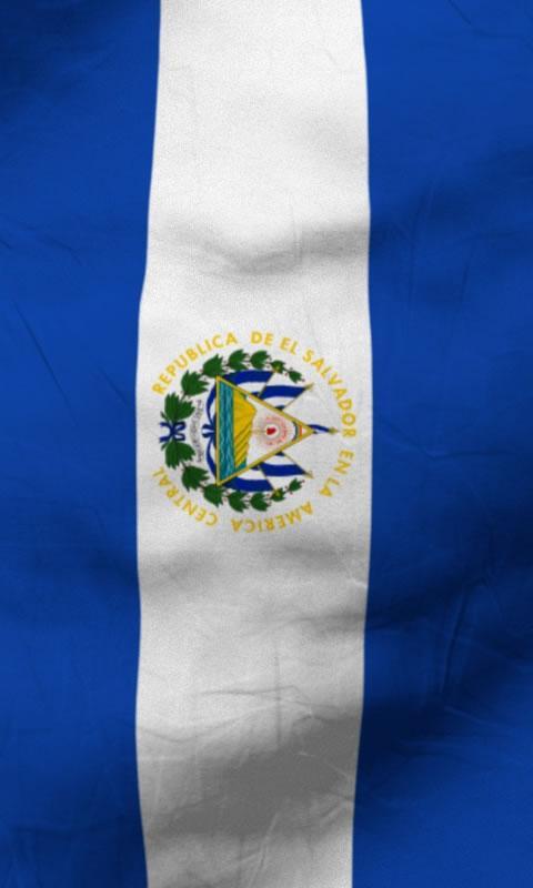 El salvador flag lwp Free- screenshot