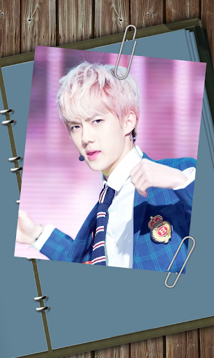 EXO Sehun Live Wallpaper 02