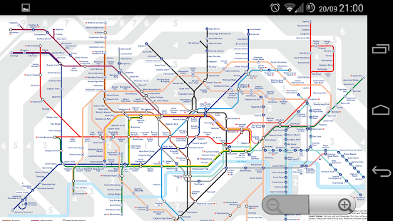 London Transport Maps- screenshot thumbnail
