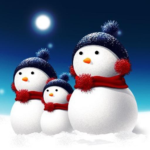 圣诞雪人壁纸 娛樂 App LOGO-硬是要APP