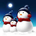 Christmas Snowman wallpaper icon