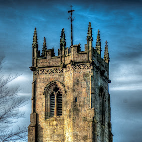 Church HDR by Steve Evans - Buildings & Architecture Places of Worship (  )