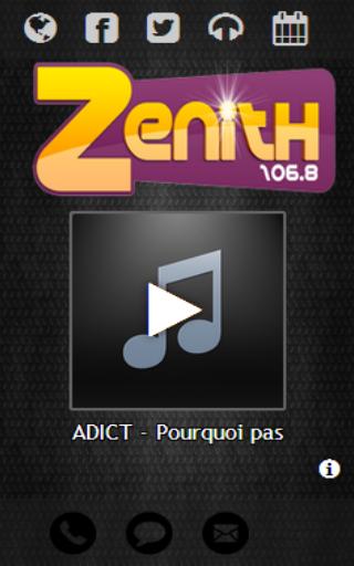 RADIO ZENITH 106.8 FM
