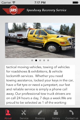 Speedway Recovery Services