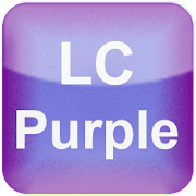 App LC Purple Theme Apex/Go/Nova APK for Windows Phone