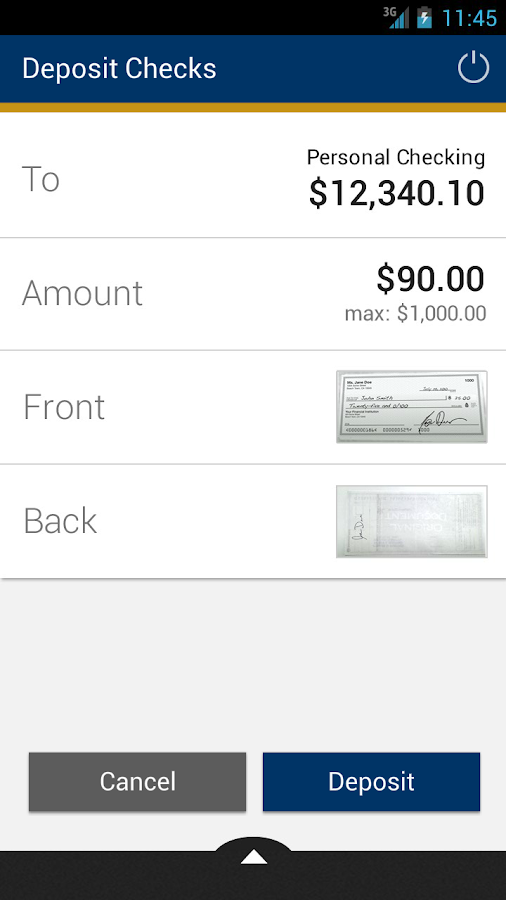 myCCCU Mobile Banking - screenshot