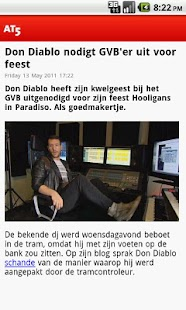 AT5 Nieuws - screenshot thumbnail