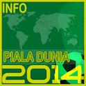 Info Bola Dunia 2014 icon