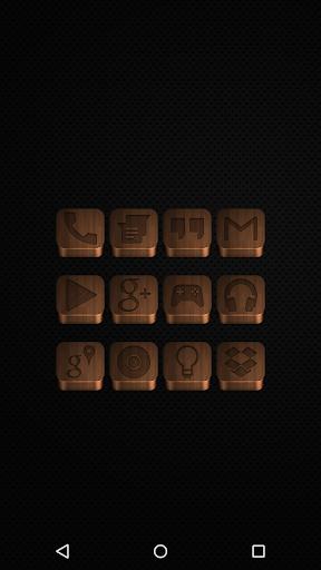 Dark Wood - Icon Pack