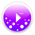 PowerAmp Skin MellowPurple icon