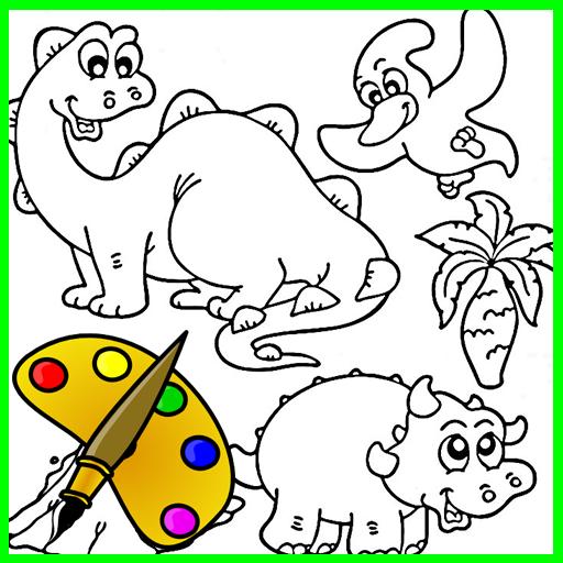 Animals Coloring Kids LOGO-APP點子