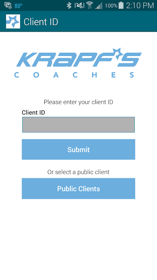 Krapf's Coaches- screenshot