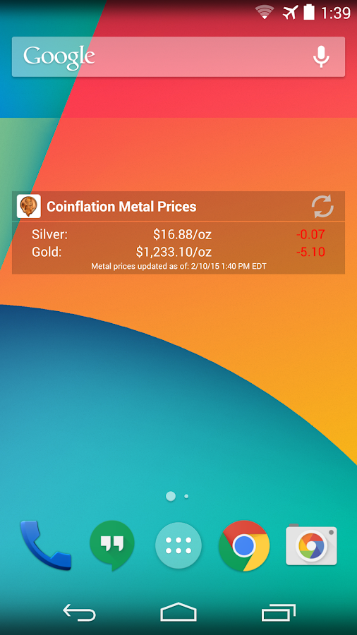 Coinflation- screenshot