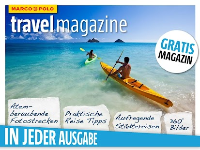 MARCO POLO travel magazine – Miniaturansicht des Screenshots