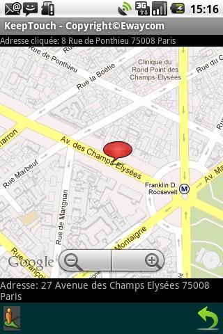 KeepTouch- screenshot