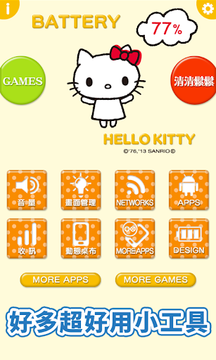 「Hello Kitty節能省電」「清清鬆鬆」 可愛節能♪