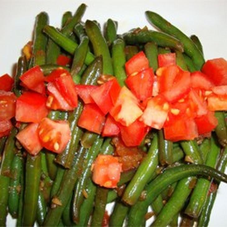 Stir-Fry Spicy Green Beans Recipe
