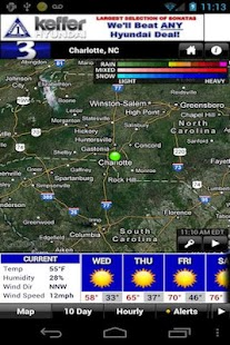 WBTV First Alert Weather - screenshot thumbnail