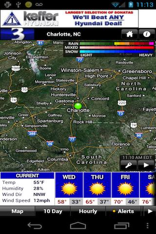 WBTV First Alert Weather - screenshot