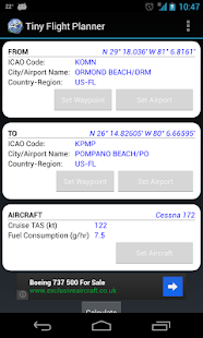 Tiny Flight Planner - screenshot thumbnail