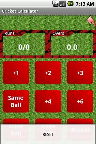 Cricket Calculator 2.1 screenshots 2
