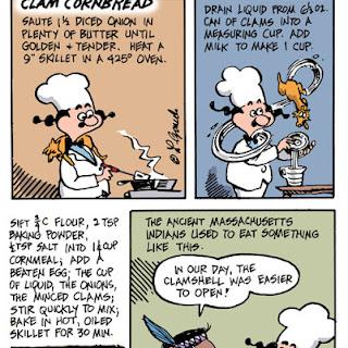 Clam Cornbread