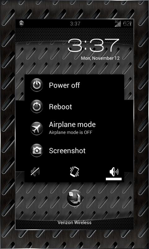 MACHINE BLACK THEME CHOOSER - screenshot