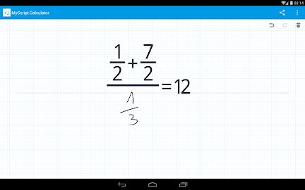 MyScript Calculator Screenshot 20