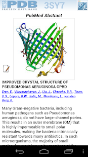 RCSB PDB Mobile - screenshot thumbnail