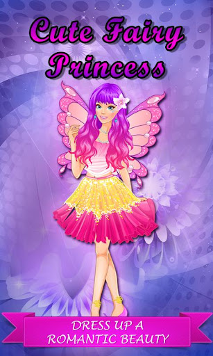 Cute Fairy Princess Girl