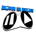 Down in Front [Beta] logo