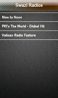 Screenshot of Swazi Radio Swazi Radios