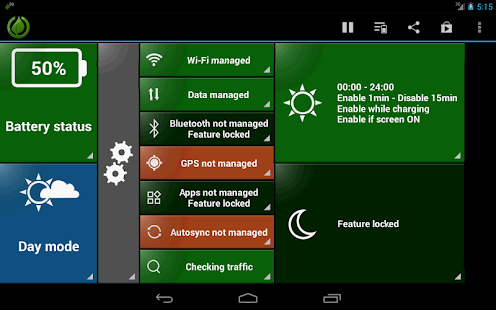 GreenPower Free Battery Saver - screenshot thumbnail