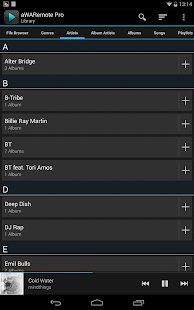 aWARemote Pro for Winamp® - screenshot thumbnail