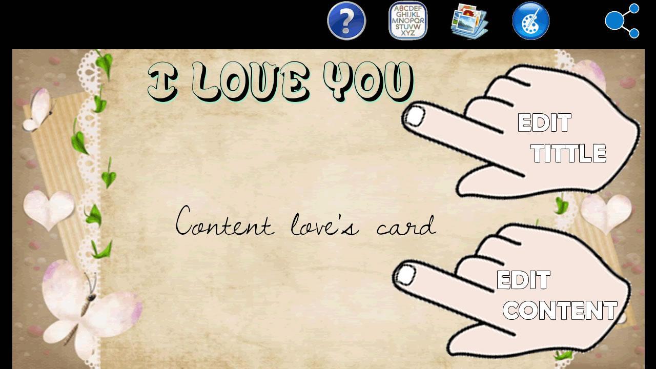 love letters screenshot