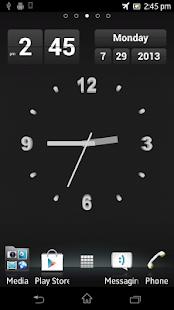Zitanium Clock Live Wallpaper