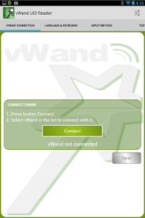 vWand UID Reader- screenshot thumbnail