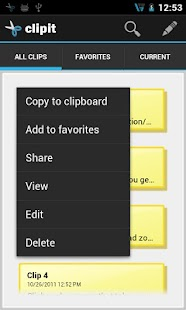 ClipIT - Clipboard Manager- screenshot thumbnail