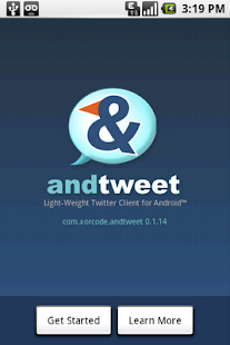 AndTweet - screenshot thumbnail