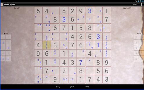 Sudoku 10 000