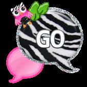 GO SMS - Zebra Pink Owl