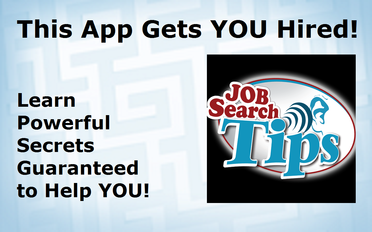 Job Search Tips - screenshot