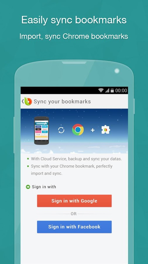 Next Browser for Android - screenshot